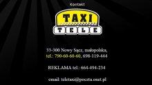 Tele-Taxi Nowy Sącz - Kontakt (Tworzenie Stron Internetowych RaVns)
