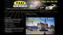 Tele-Taxi Nowy Sącz - Reklama stacjonarna, mobilna (Projektowanie Stron WWW RaVns)