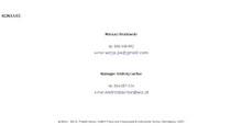 WIZJA Pracownia Artystyczna - Kontakt (Tworzenie Stron Internetowych RaVns)